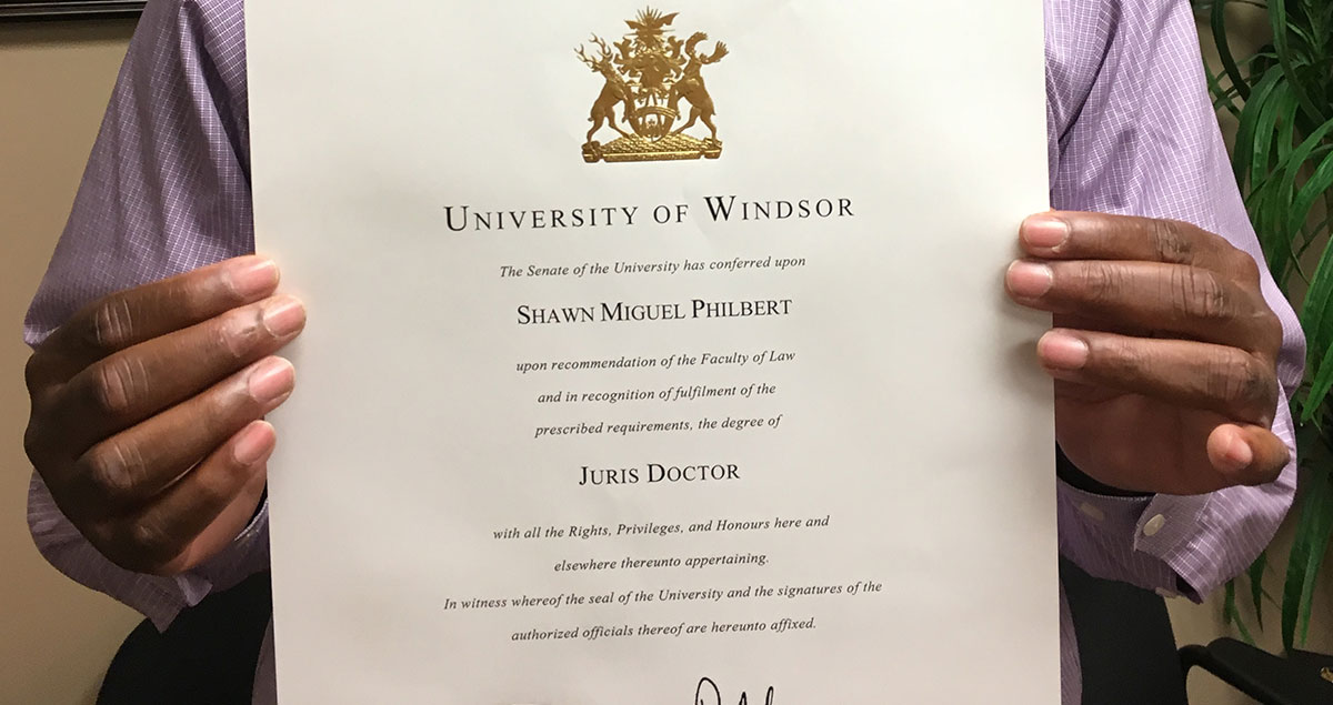 University of Windsor JD